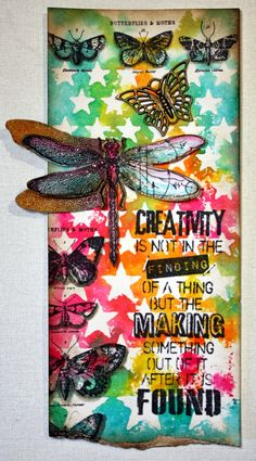 Bella's Scrappin' Space: June tag of Tim's 12 Tags of 2014