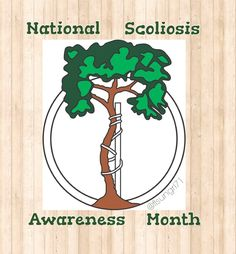 June is National Scoliosis Awareness Month.  Keep sharing your stories. Together We Can Spread Awareness.