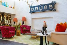 """Wild Animals Take Over A Palm Springs Hotel & Cuteness Ensues  #refinery29  http://www.refinery29.com/gray-malin-palm-springs-photo-series#slide-2  DRUGS""""Anyone who's ever been to The Parker Palm Springs has snapped a photo of this entryway because it's just so cheeky,"""" he says. """"I couldn't think of a better greeter than your friendly bellman monkey, who's there to help you with whatever you need..."""""""