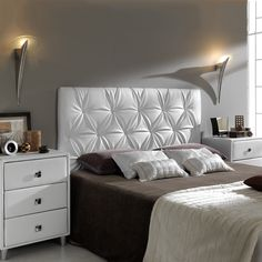 [New] The 72 Best Home Decor Ideas Today (with Pictures) - These are the 72 best home decor ideas today (with pictures). According to home decor experts,. Bed Headboard Design, Bedroom Bed Design, Headboards For Beds, Modern Bedroom, Deco Furniture, Furniture Design, Bed Back Design, Latest Bed, Pop False Ceiling Design