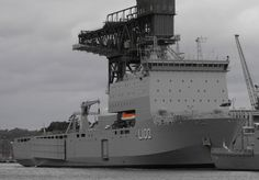 Royal Australian Navy Landing Ship Dock HMAS Choules (L 100).