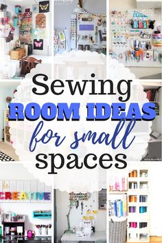 Sewing Crafts Great list of several sewing room and craft room organization ideas especially sewing room ideas for small spaces. - Great list of several sewing room and craft room organization ideas especially sewing room ideas for small spaces. Sewing Patterns Free, Free Sewing, Sewing Hacks, Sewing Crafts, Sewing Tips, Sewing Tutorials, Diy Crafts, Creative Crafts, Paper Crafts