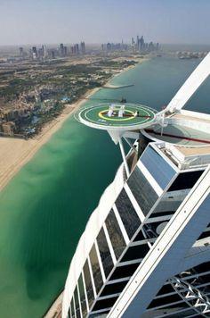 Burj Al Arab Hotel offers Wedding in the Skies luxury package