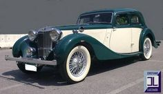 TOTALLY RESTORED MG SA SALOON For Sale (1937)