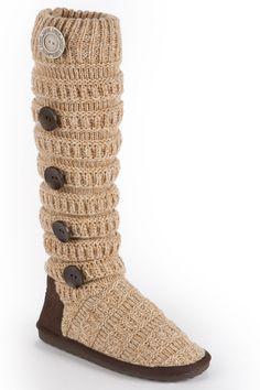 Luks miranda marled texture stripe boot in oatmeal beyond the rack