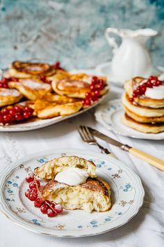 soft pillowy pancakes