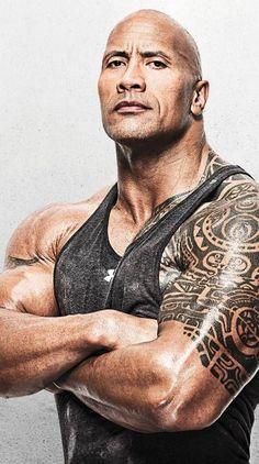 Dwayne The Rock, The Rock Dwayne Johnson Workout, Tatuaje The Rock, Dwane Johnson, Muscle Building Tips, Michael Ealy, Rock Johnson, Bulletins, Fitness Tattoos