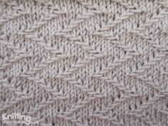 zigzag-chevron-stitches | Knitting Stitch Patterns #knitSwatch (instructions for…