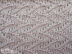 zigzag-chevron-stitches | Knitting Stitch Patterns #knitSwatch (instructions for…