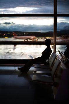 Como un poeta en el aeropuerto