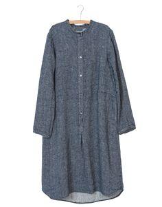 Shirt dress in linen twill Nygards Anna Autumn 2016