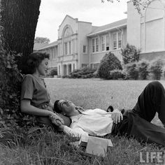 Whitehaven High School. Tennessee, 1947. By Edward Clark