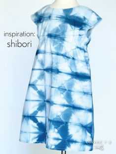 Add visual texture and interest to you next sewing project with the art of shibori.
