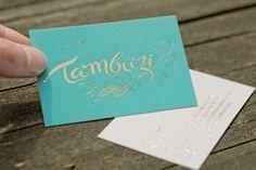Tambuzi - Business Card Design Inspiration   Card Nerd