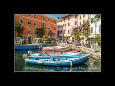 Limone, Lake Garda, Italy.
