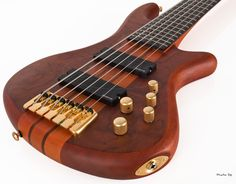 Image Detail for - Schecter Stiletto Studio-6 6-String Electric Bass Guitar, Honey Satin ...