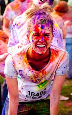 cant wait for the color run this summer!