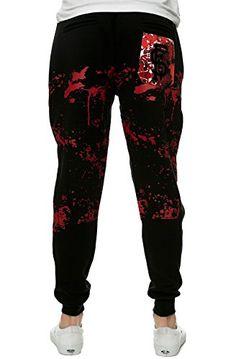 Jogger pants Elastic waistband Adjustable drawstring closure