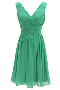 Ouman Short Bridesmaid Dress Chiffon Party Evening Dress ... https://www.amazon.com/dp/B00PQQOBAI/ref=cm_sw_r_pi_dp_x_VtMPybQX2DF7Y