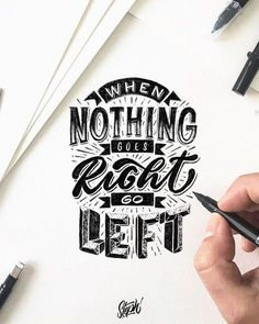 Most popular lettering and typography styles with inspiring quotes are here. These beautiful lettering and typography brushes designs are just amazing. Hand Lettering Quotes, Calligraphy Quotes, Doodle Lettering, Creative Lettering, Lettering Styles, Calligraphy Letters, Typography Quotes, Typography Letters, Brush Lettering
