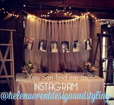 You can now follow me on INSTAGRAM @helenaeventdesignandstyling xx