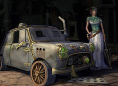 Steampunk MINI Countryman