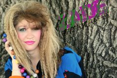"Awesome ""crimped"" 80's hair"