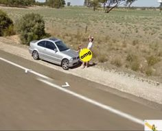 The Weirdest Google Street View Images EVER! (NSFW) Hit the pic to see all the #lol images!