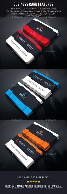27 new professional business card psd templates design graphic corporate business cards template design download httpgraphicriver accmission Choice Image