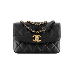 ba0d3c42695c lambskin gold-tone metal ❤ liked on Polyvore featuring bags Chanel Cruise,  Cruises 2018