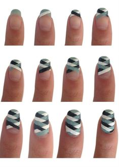 Nail Art Tutorial #nails #nailart #nailpolish #polish #beauty