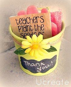Present idea for teacher- cute idea for Stella's preschool teachers