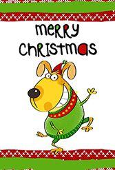 Ilmaiseksi tulostettavia joulukortteja! http://www.greetingsisland.com/printables/holidays/christmas