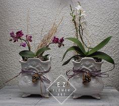 Detalle para los clientes, las orquídeas siempre son especiales para alguien especial #ezflowerart #mexicanflorist #flowerdesign #alcachofaservices #flowers #florist #xmas #orchid #phalaenopsis #mini