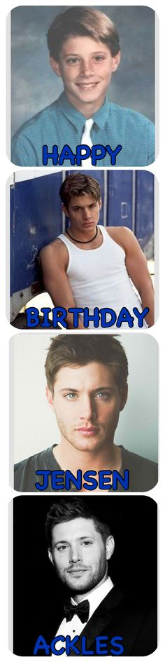 Jensen Ackles only gets better with age. (March 1st)