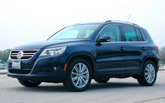 VW Tiguan - our new car... bought this 2011 SEL this week