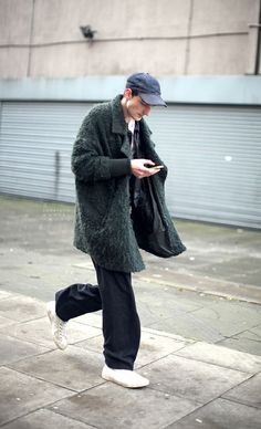 LOOKER(신중) 와이드 팬츠 코디하기, 통바지 스타일 : 네이버 블로그