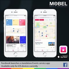 Facebook launches a standalone Events service app. Available only for iOS devices currently: http://apple.co/2dBnTvA