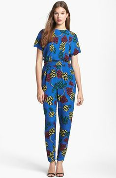 MARC BY MARC JACOBS 'Mareika Tulip' Blouson Jumpsuit available at #Nordstrom