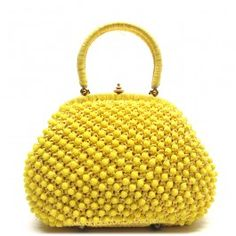 Cute yellow handbag from the 50s