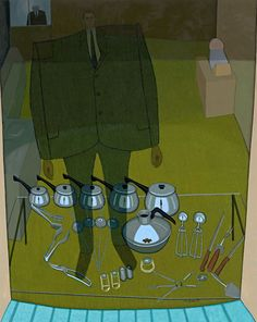 John BRACK Inside and outside (The shop window) (1972) oil on canvas 164.0 x 130.5 cm National Gallery of Australia, Canberra
