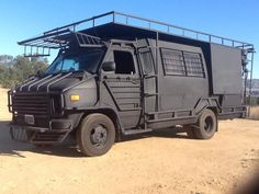 Now this is extream camping Kombi Motorhome, Truck Camper, Camper Van, Hors Route, Vw Lt, Zombie Apocalypse Survival, 4x4 Van, Bug Out Vehicle, By Any Means Necessary