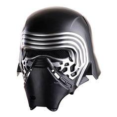 Star Wars: Episode VII Kylo Ren 2-Piece Helmet - Rubies - Star Wars - Costumes at Entertainment Earth