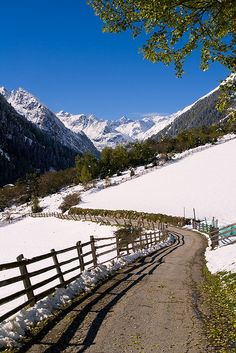 Tyrol, Austria - Spring is on the way,