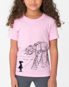 My Star Wars AT-AT Pet - Toddler / Youth American Apparel T-shirt ( Star Wars shirt ) by EngramClothing on Etsy