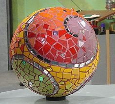 How to make a Mosaic Garden Sphere