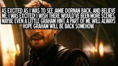 OUAT Confession: Graham/Huntsman - sheriff-graham-the-huntsman Fan Art. Jamie Dornan ♥