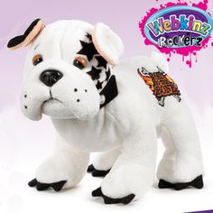 Webkinz Rockerz Bulldog - Bad to the Bone $13.95