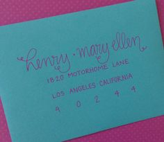 wedding invitation addressing wwwcalligraphybycarriecom my ...