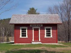 The oldest rail-related structure in Maine . . . the Gilead Railroad Depot built in 1851.